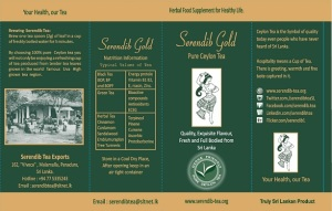 serendib gold-Pure Ceylon Tea Exporters to the world